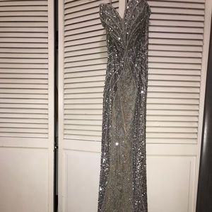 Scala Sparkling Sequin Prom Dress